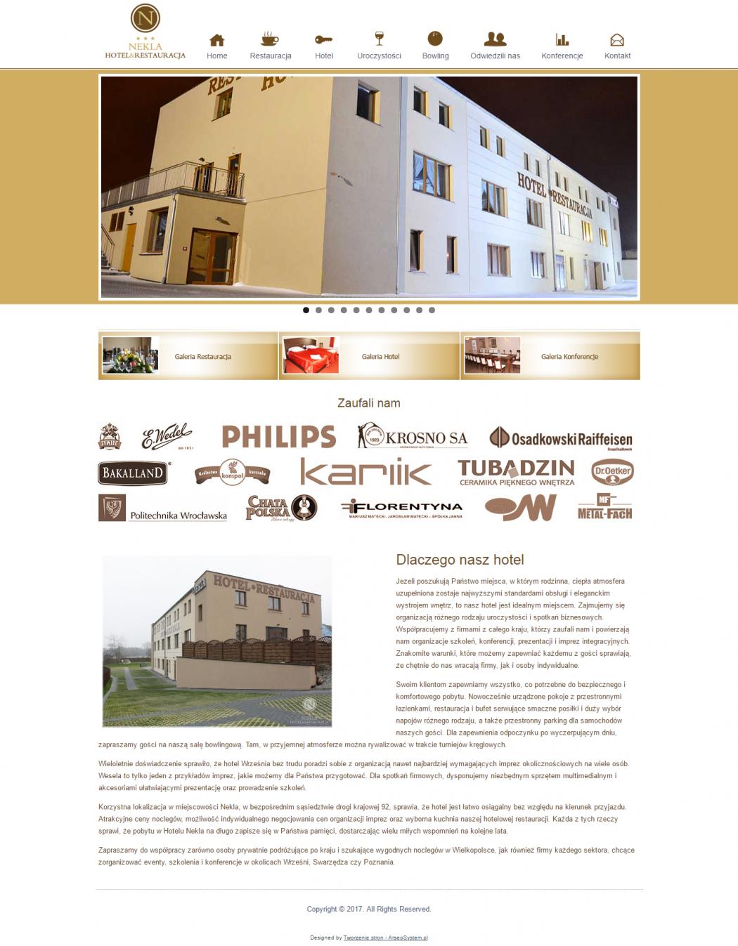Września - Hotel